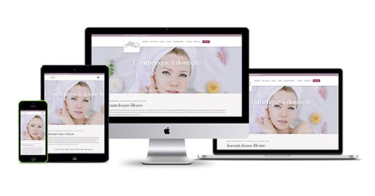 site internet Instant Douce Heure