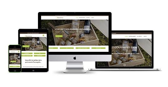 écran site Tourangoule