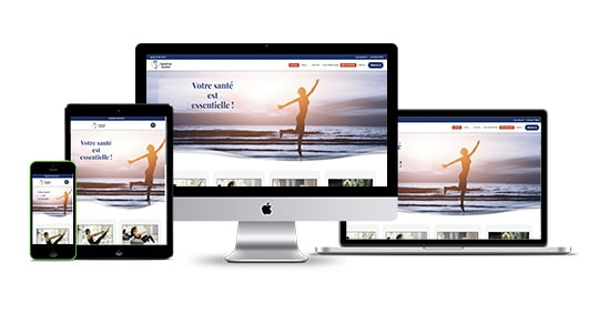 site internet Sandrine Gautier